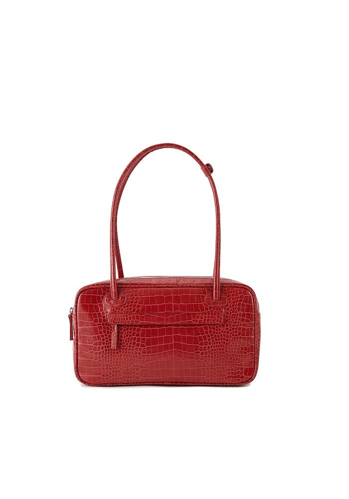 TWO ZIPPER BAG DINNER BOX(CHERRY RED)