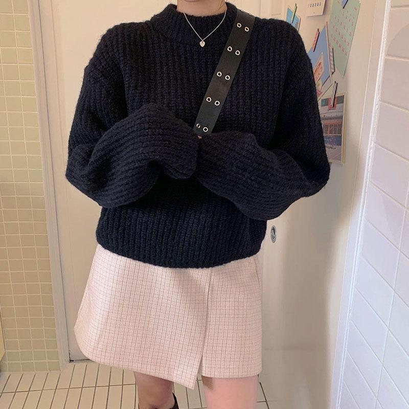 Hug Season Ribbed Knit Sweater_CJKL20N008