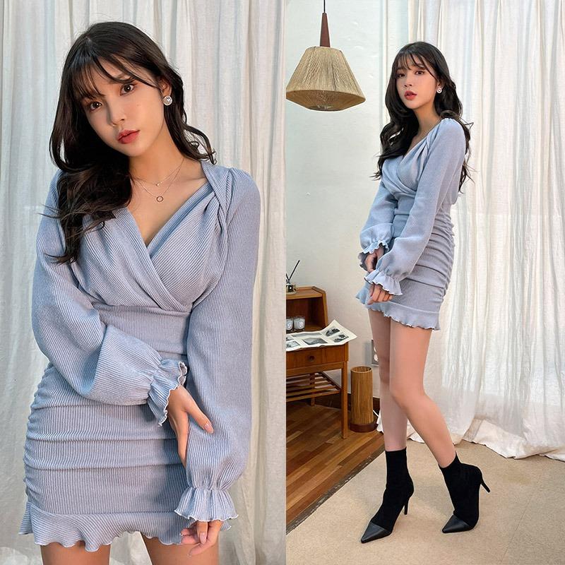 Like A Bonbon Mini Dress_H66806