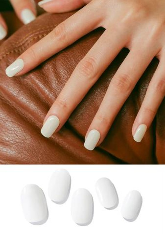 ZINIPIN Simply White Nails