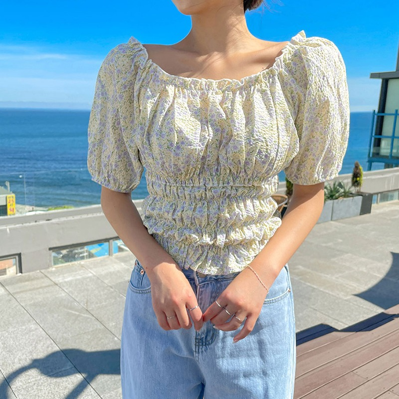 The Language Of Flower Blouse