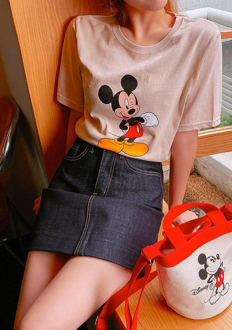 迪士尼联名米奇短袖T恤_H65485