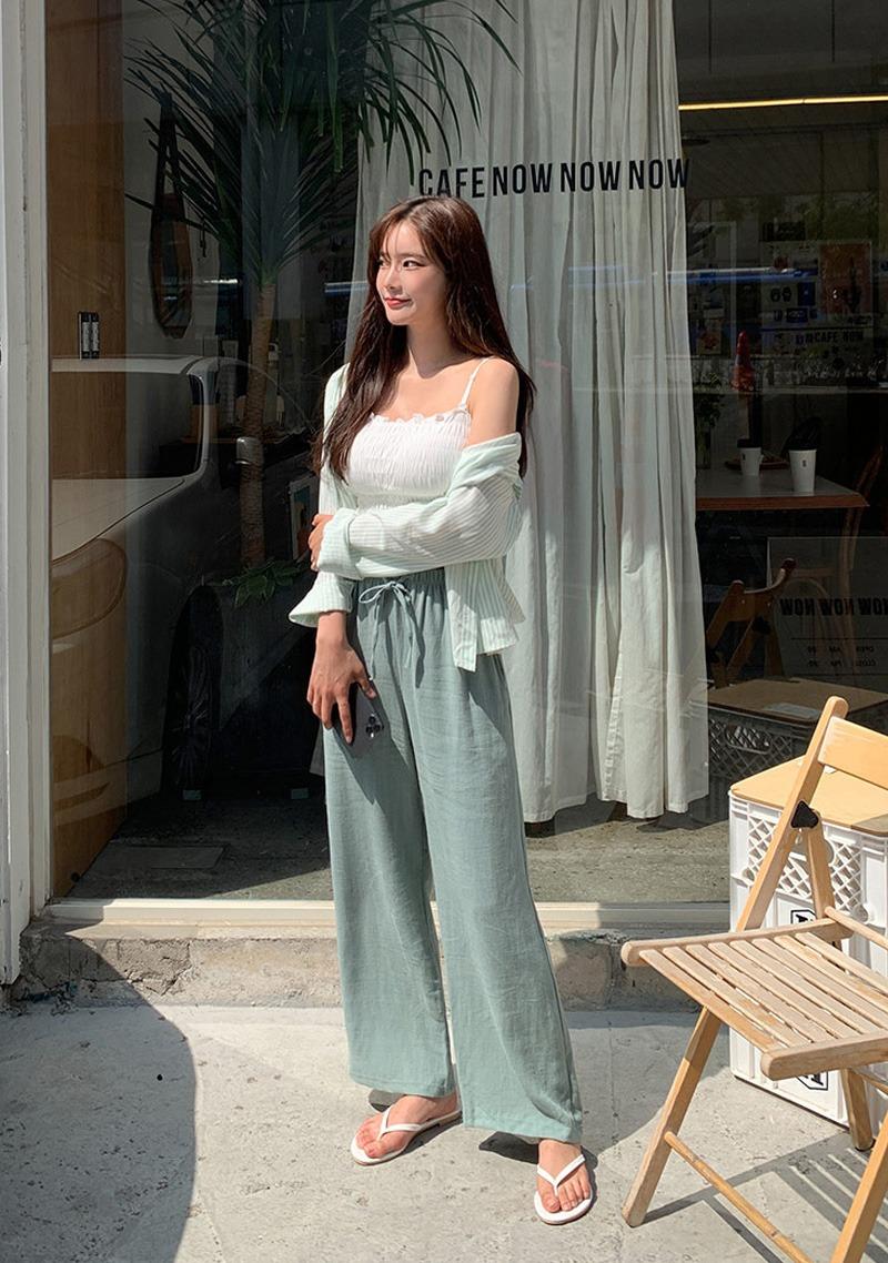 Aude Wide Linen Pants_H64651