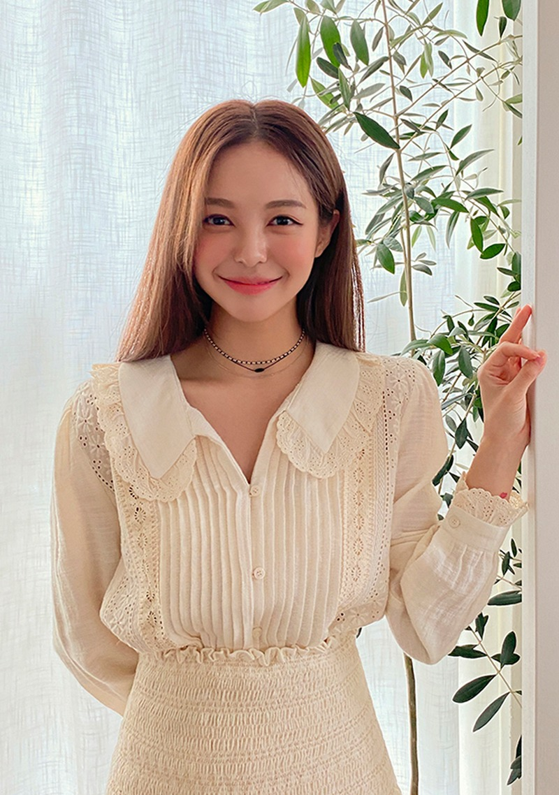 Lovely With You Lace Blouse_H65845