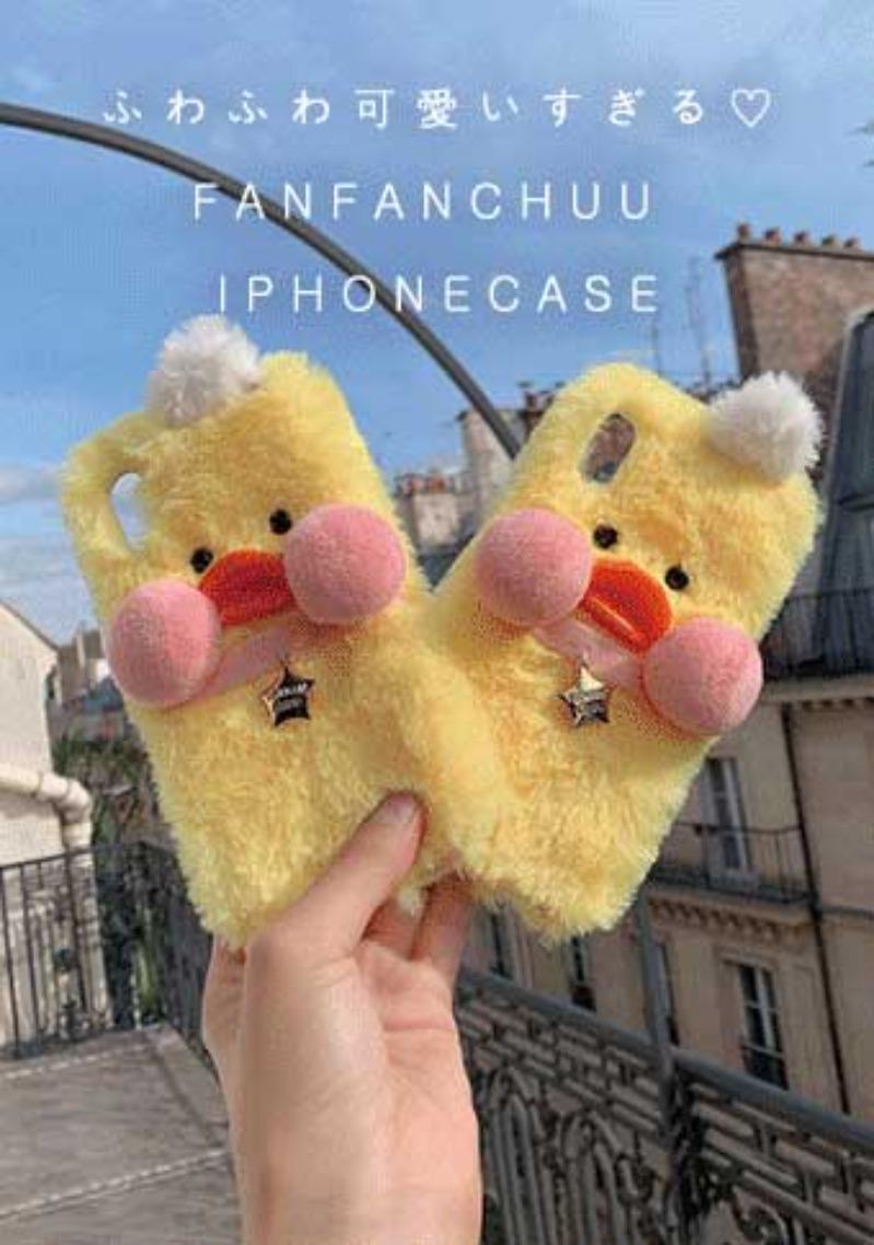 FANFANCHUU Sweet Fur Phone case - 韓国通販 chuu