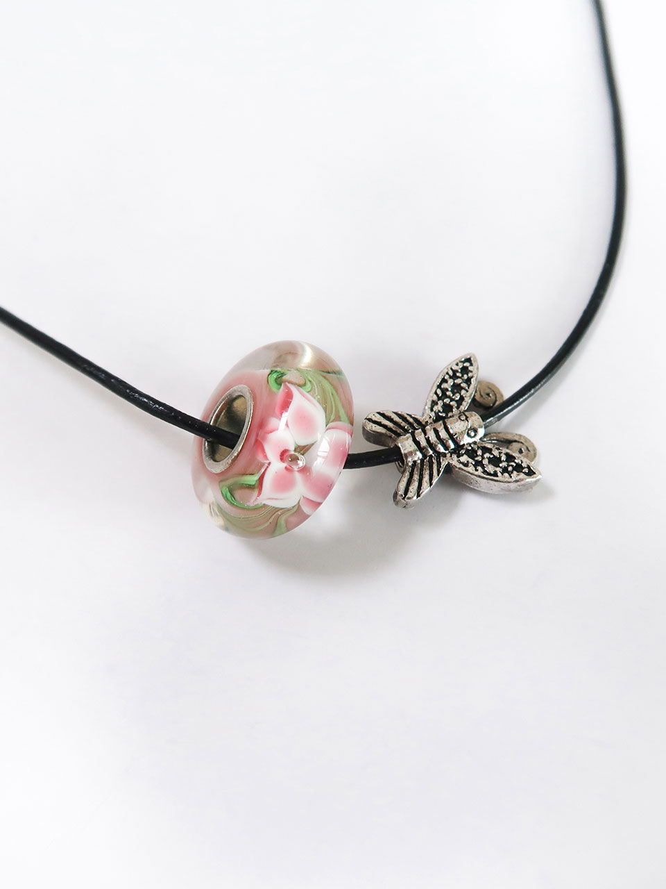 ciols made)flower trollbeads necklace(13type)