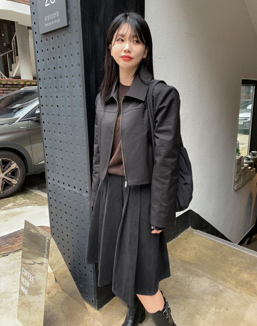 치마 모델 착용 이미지-S12L17