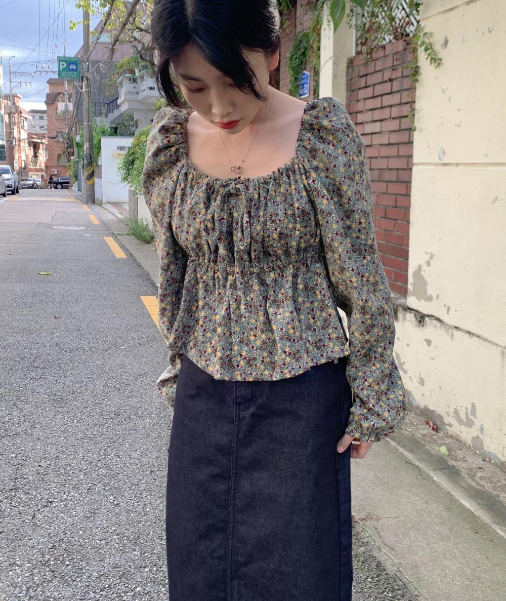 치마 모델 착용 이미지-S17L24