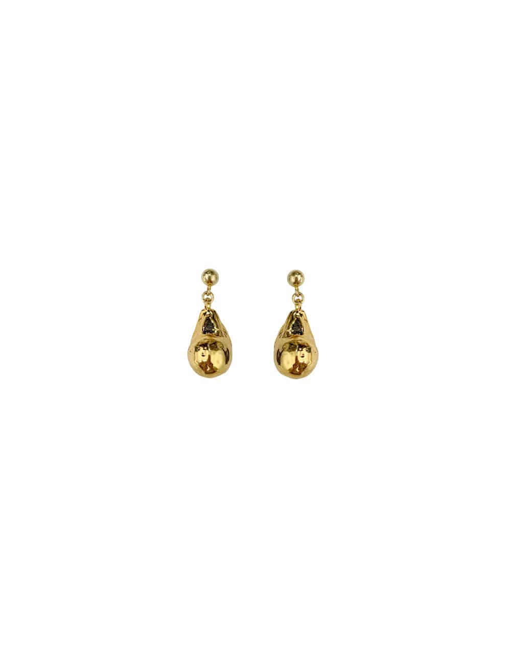 [이성경 착용] Kate Gold Baroque Earrings _ 빈티지 골드 바로크 귀걸이 라비쉬에