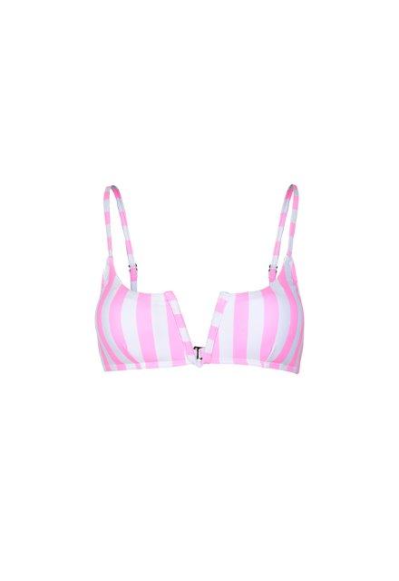 Sarah Top - Pink Stripe