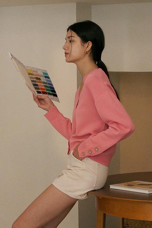 picasso cardigan (pink) 여유분수량