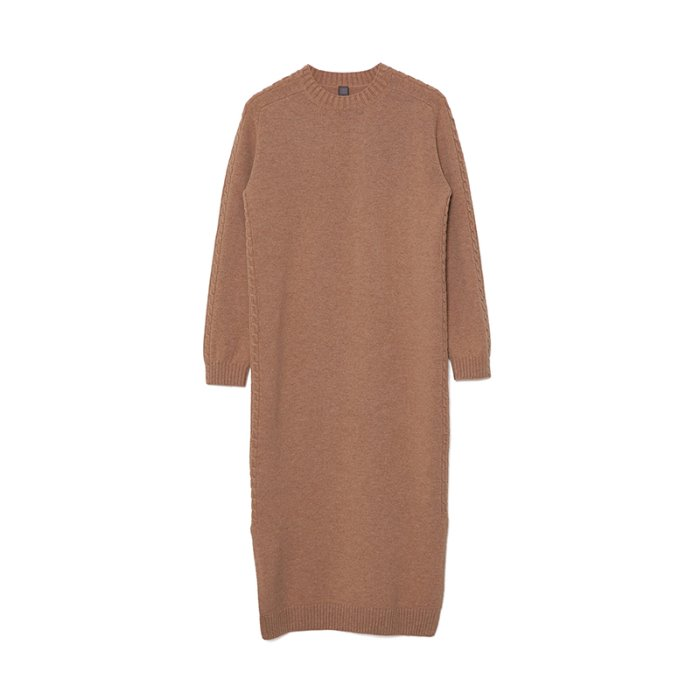 Cable Round One-piece_Beige