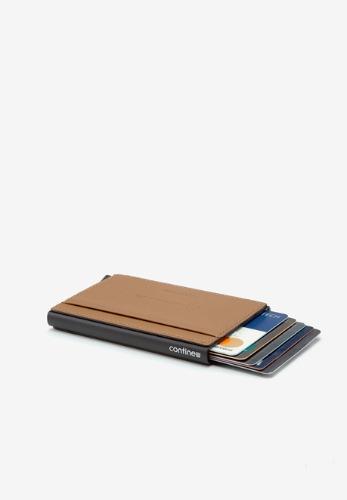 컨티뉴 알루미늄 카드지갑 V3 [탄]