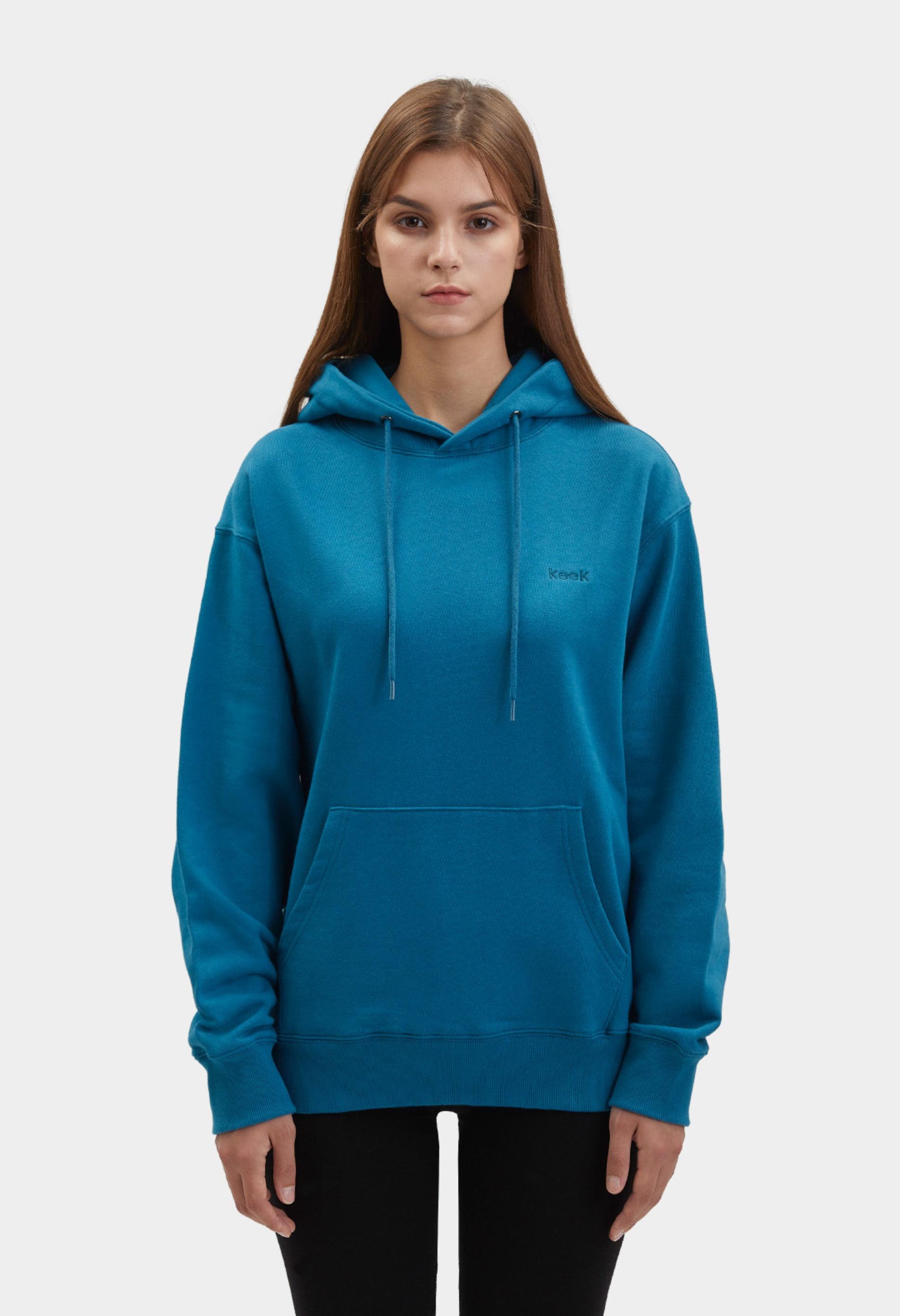 keek [Unisex] keek Hoodie - Blue 스트릿패션 유니섹스브랜드 커플시밀러룩 남자쇼핑몰 여성의류쇼핑몰 후드티 힙색
