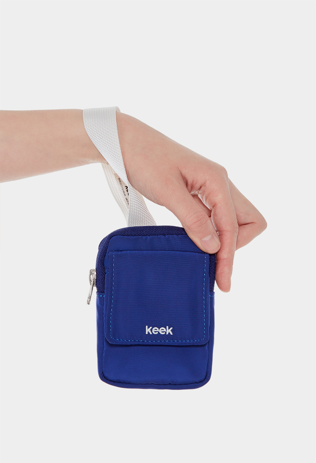 keek Buckle Pocket - Blue 스트릿패션 유니섹스브랜드 커플시밀러룩 남자쇼핑몰 여성의류쇼핑몰 후드티 힙색