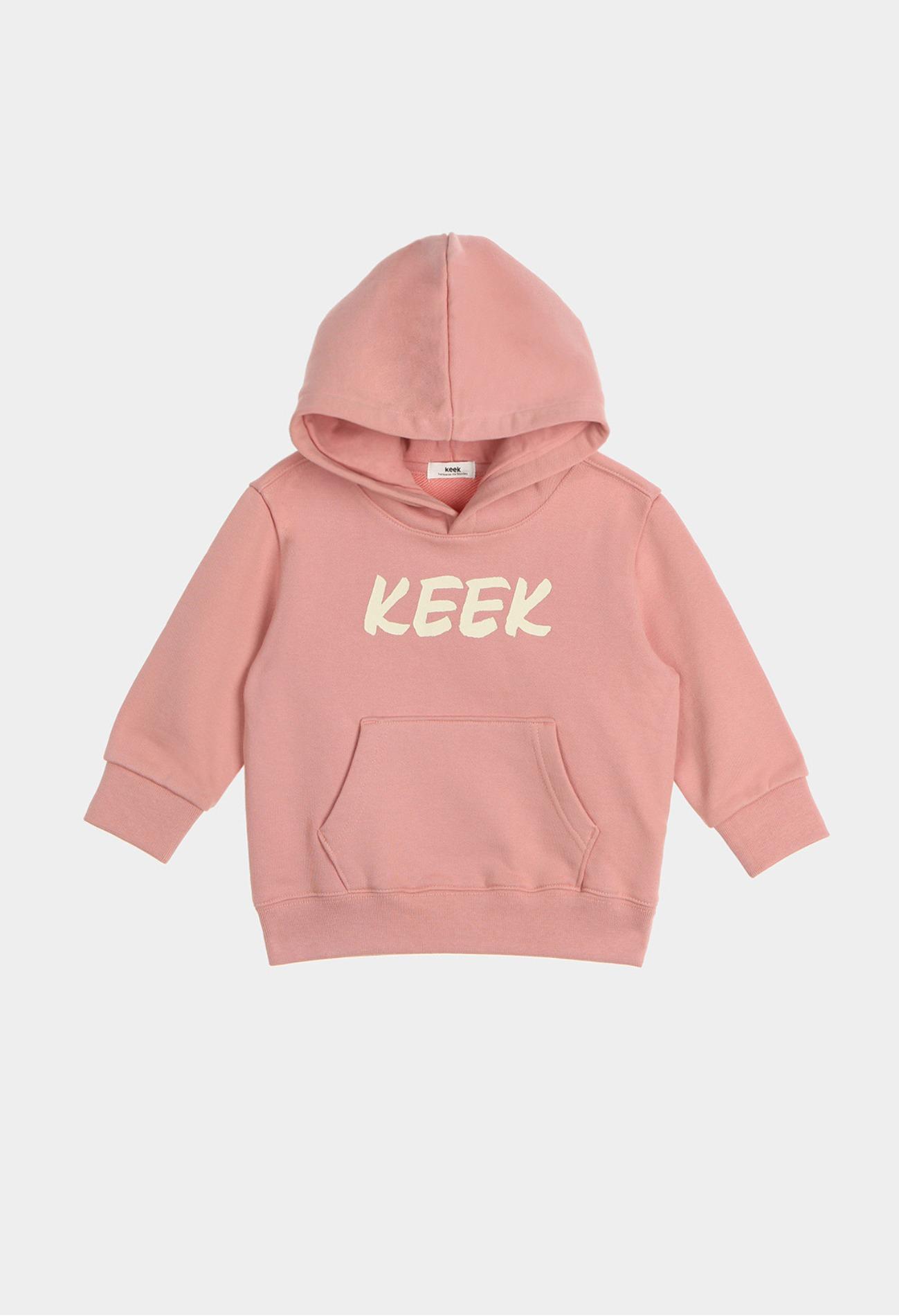 keek [Kids] KEEEK Hoodie - Vintage Pink 스트릿패션 유니섹스브랜드 커플시밀러룩 남자쇼핑몰 여성의류쇼핑몰 후드티 힙색