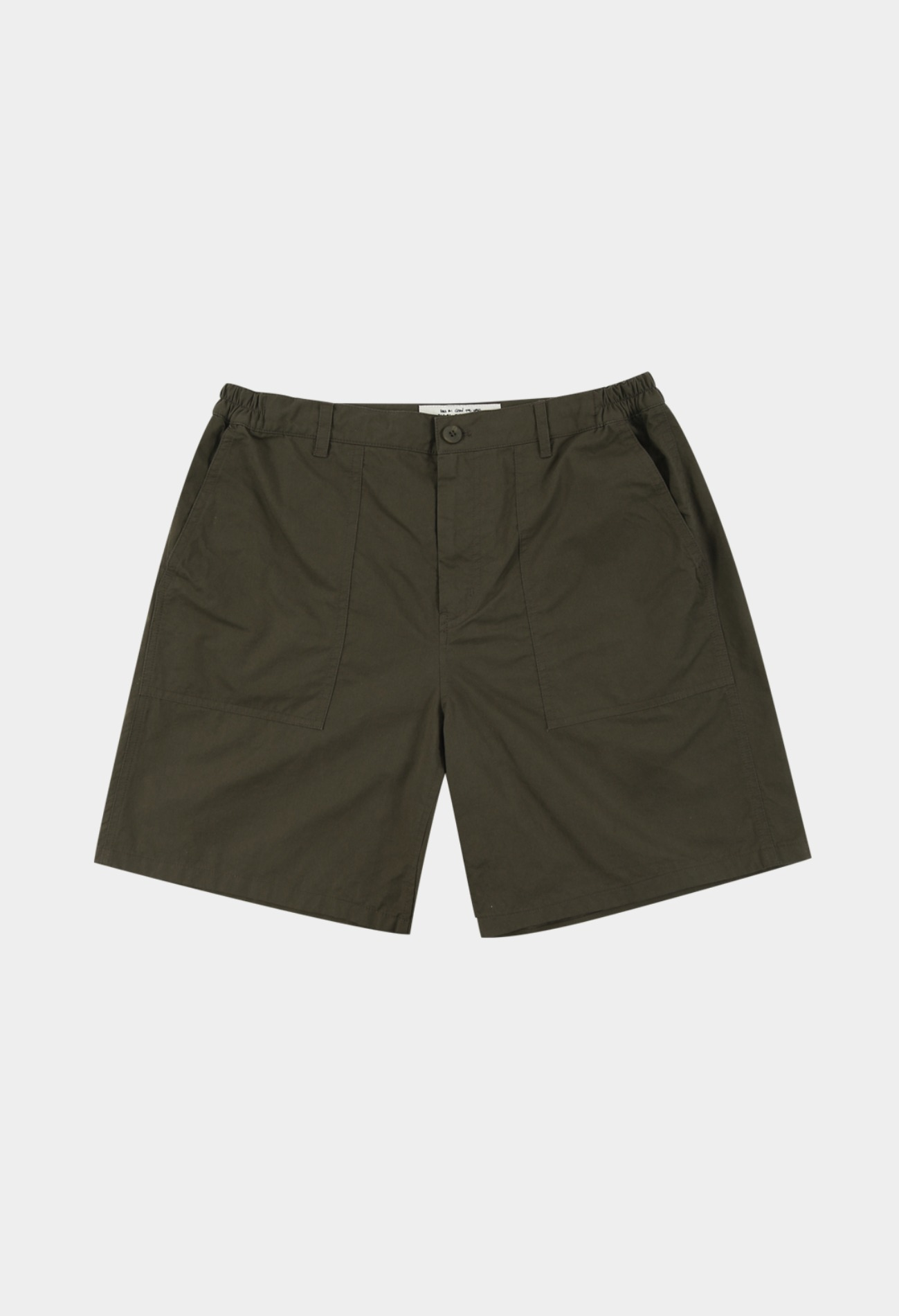 keek Fatigue Short Pants - Khaki 스트릿패션 유니섹스브랜드 커플시밀러룩 남자쇼핑몰 여성의류쇼핑몰 후드티 힙색