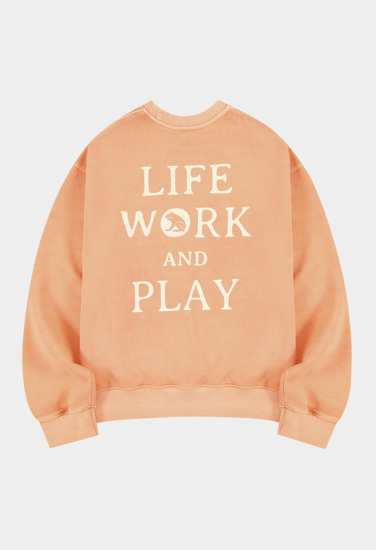keek Pigment Sweatshirts by KEEK CREW - V/Orange 스트릿패션 유니섹스브랜드 커플시밀러룩 남자쇼핑몰 여성의류쇼핑몰 후드티 힙색