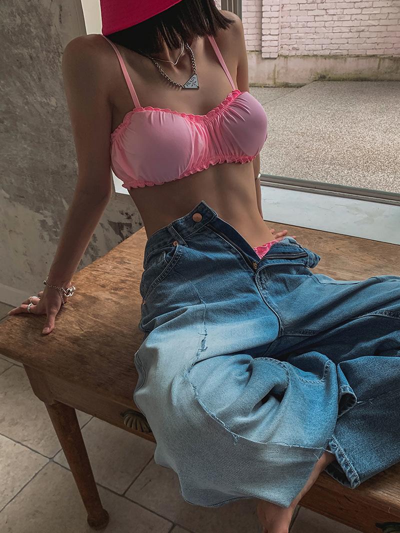 셔링스트링비키니-bikini (+캡내장)