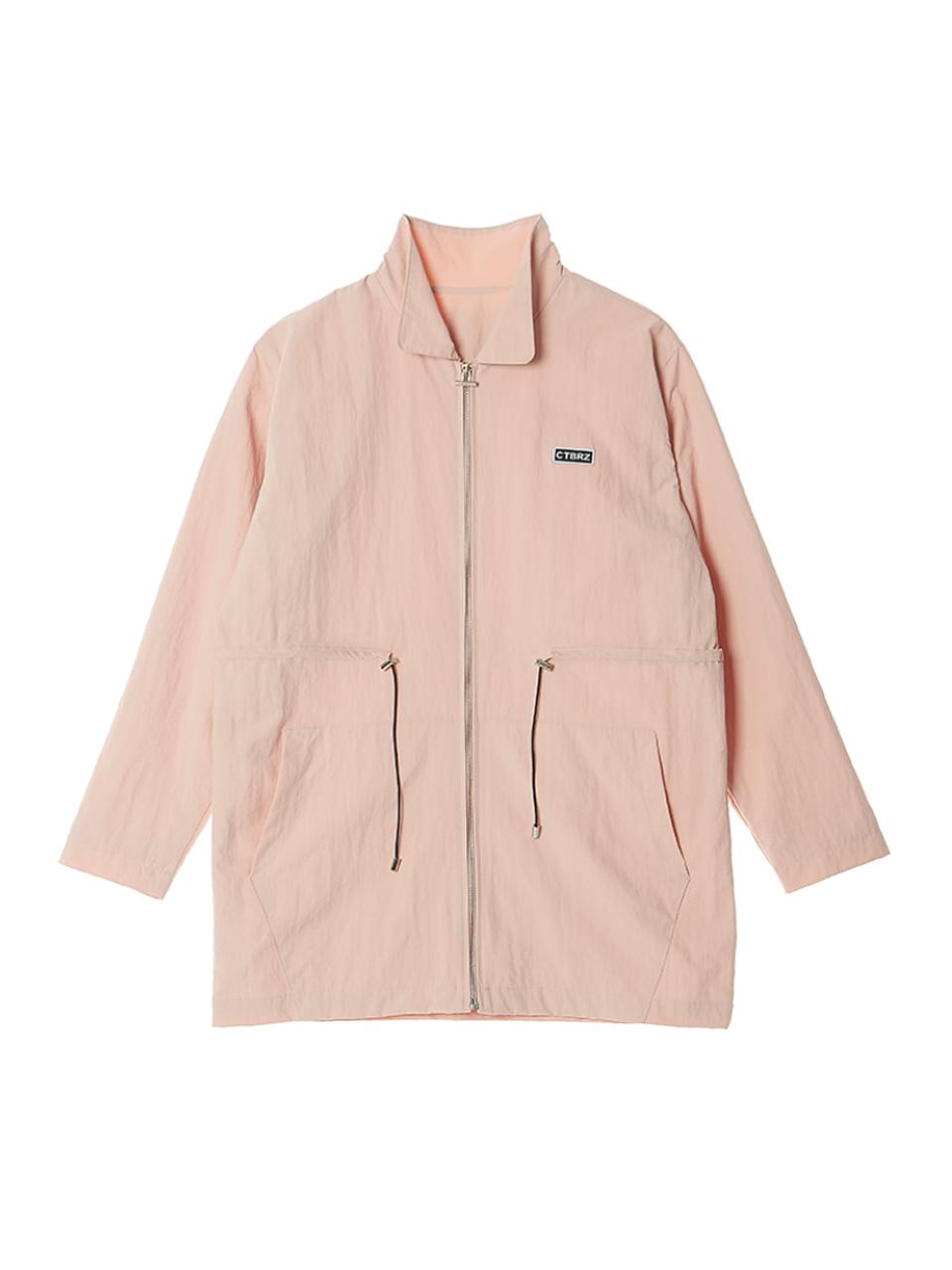 (CTA3) 베이직 로고 점퍼 핑크