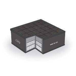 [CWMF-3314] 유해가스 정화기 메인필터 (적용모델:CAFU-02,05,06,13,14-01)