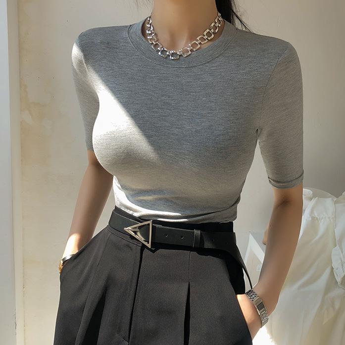 Dabagirl Slim Fit Half Sleeve T-Shirt