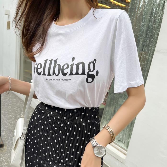 Dabagirl WELLBEING Print T-Shirt