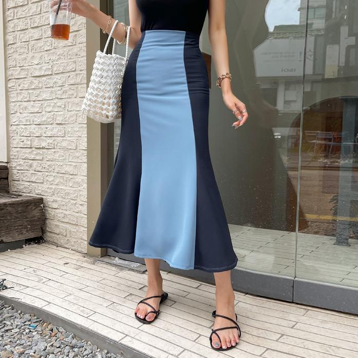 Dabagirl Two-Tone Mermaid Skirt