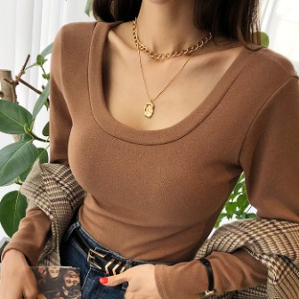 Dabagirl Gold Tone Two-Piece Necklace Set
