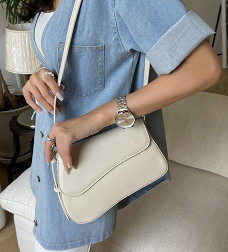 Dabagirl Asymmetric Flap Shoulder Bag