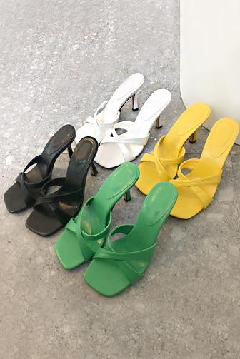 트리발힐(C9163)_D2SH 여자쇼핑몰 데일리룩 데이트룩 이채은쇼핑몰 신발 여름샌들 스트랩샌들 화이트 블랙 그린 옐로우