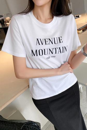 뉴비베이직반팔티_D1TA 핑크티셔츠 옐로우티셔츠 그레이티셔츠 화이트티셔츠 블랙티셔츠 레터링 라운드 오피스룩 하객룩 여친룩 출근룩 데이트룩 데일리룩 30대여성쇼핑몰 20대여자쇼핑몰 키작은여자쇼핑몰 여성의류쇼핑몰