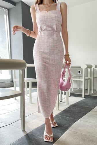제니핏스퀘어트위드탑_D2TS+제니핏트위드스커트_D2SK_SE 30대여성쇼핑몰 20대여자쇼핑몰 키작은여자쇼핑몰 여성의류쇼핑몰 데이트룩 여친룩 셋업 투피스 셋트 핑크 블랙