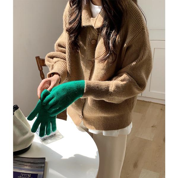 [Vane-KN021]베라 카라 가디건(TIME SALE 30%) 주문대폭주♥   니트탑이면서 가디건활용도 200%