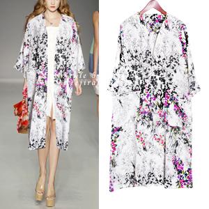 [OT-b239] Luxury floral jacket-BOUTIQUE! 수입고급원단, 한정수량로맨틱하고 화사하게~가볍게 걸치기만해도 세련되고 멋스러워요.단품당일출고