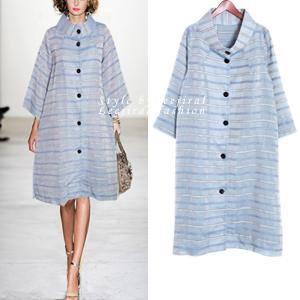 [OT-b245] Elegant linen coat-BOUTIQUE! 부티나고 하이클래스의 세련한 린넨 코트 !단품당일출고