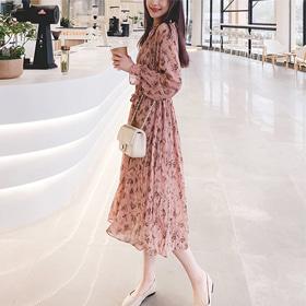 [Vane-OPe268] 플리 드레스- (TIME SALE 30%) 화사한 컬러감~!로맨틱한 분위기♡ 하늘~하늘 분위기 있는 원피스!단품당일출고