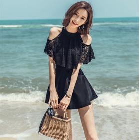 [Vane-AC705] 로리아 수영복- [SUMMER SWIMSUIT]  주 문 대 폭 주♥ 몸매 예쁘게 잡아주는 뽀샵수영복! 2가지 스타일로 연출가능해요
