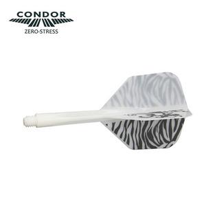 Condor - Lion Emblem x Zebra - white - small