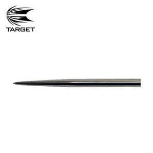 Target - Dart point - Black - 32mm - bagged