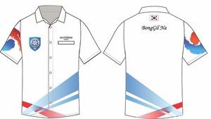 WDF Asia-pacific Cup 국가대표 유니폼