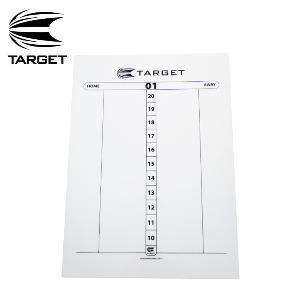 Target 타켓 - DRY WIPE SCORE SHEET