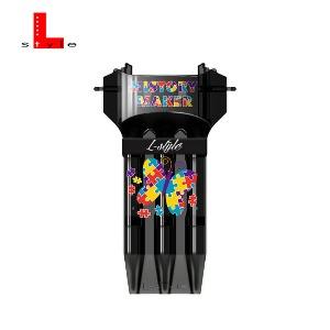 L Style - dartscase - KRYSTAL ONE - KRYSTAL ONE FALLON VER.2 - Black