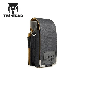 TRiNiDAD - PLAIN CROCO - Black