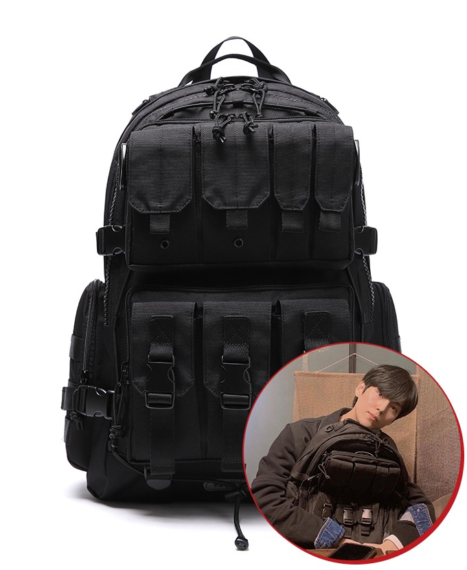 2021 DAYLIFE TECH PLUS BACKPACK (BLACK)リュックサック