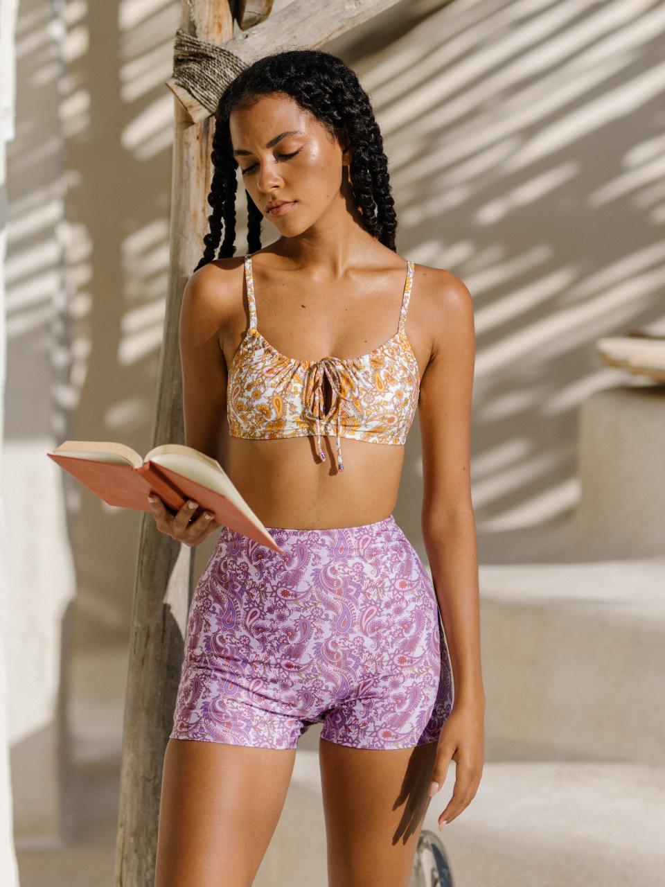 MANDANA HIGH SHORTSswimwear,수영복,비키니,데이즈데이즈,dazedayz,디자이너수영복,디자이너스위웨어,디자이너수영복,리조트웨어,