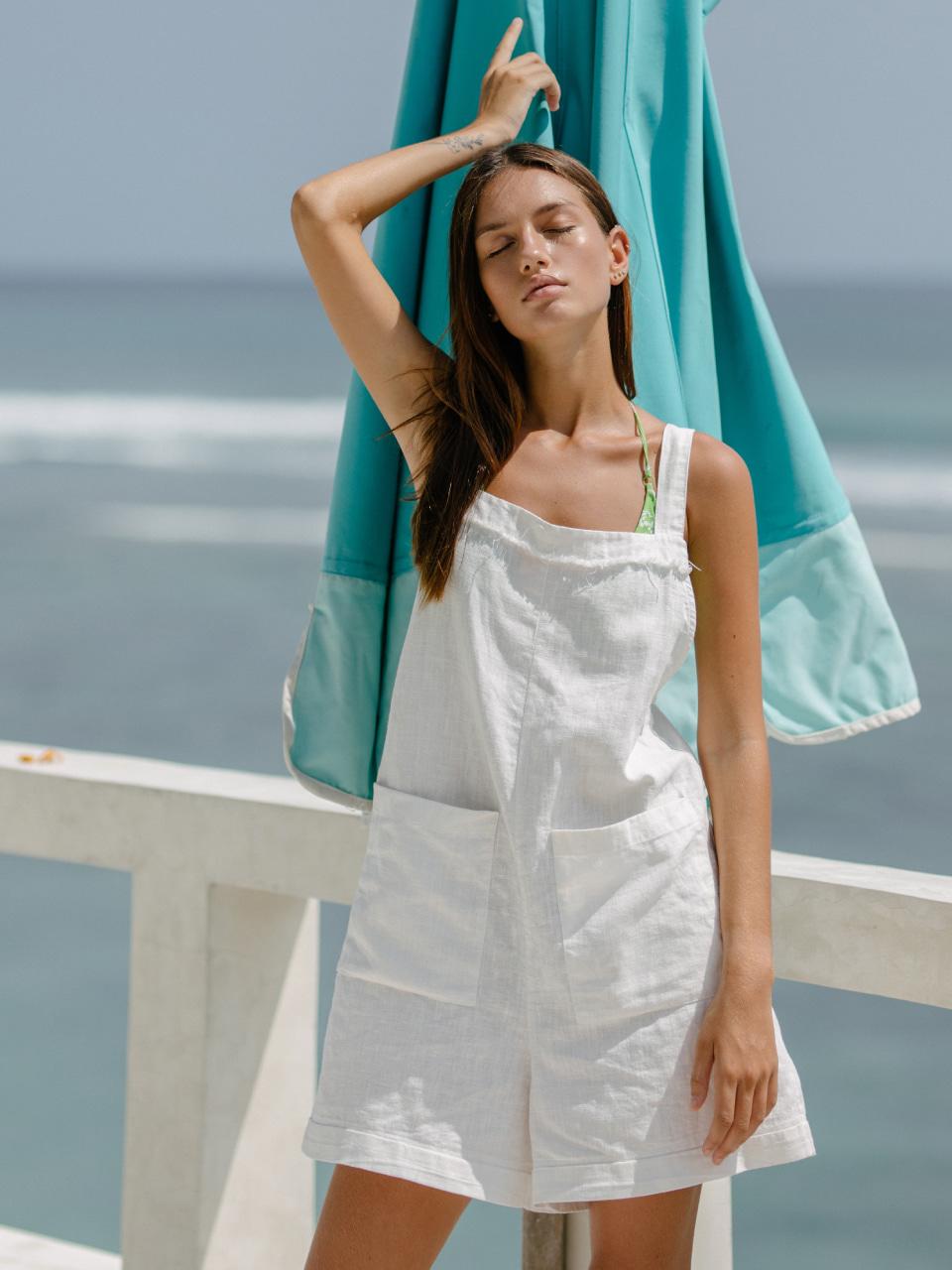 ANGELICA OVERALL SHORTSswimwear,수영복,비키니,데이즈데이즈,dazedayz,디자이너수영복,스윔웨어