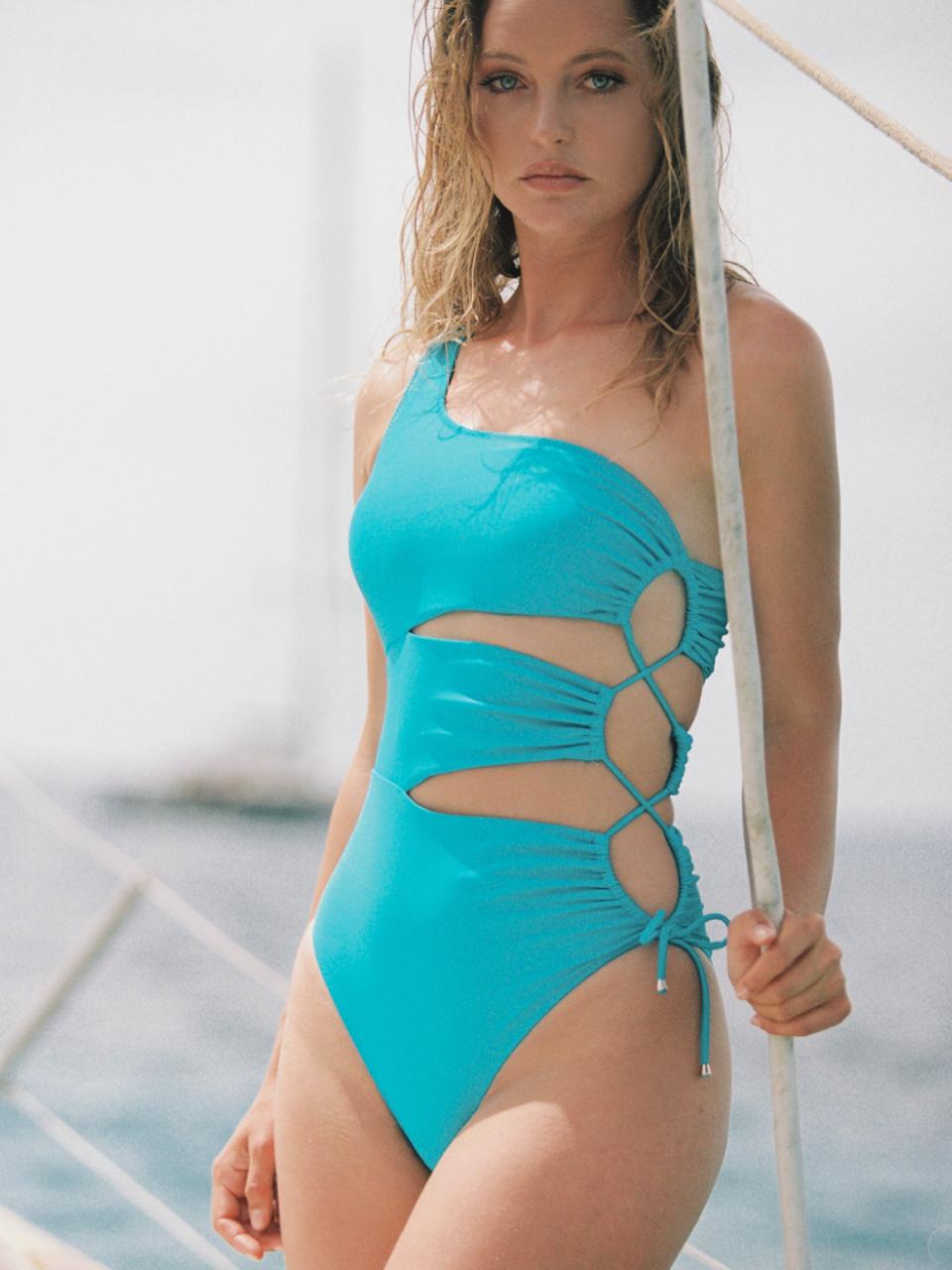BADA ONE-SHOULDER ONE-PIECEswimwear,수영복,비키니,데이즈데이즈,dazedayz,디자이너수영복,디자이너스위웨어,디자이너수영복,리조트웨어,