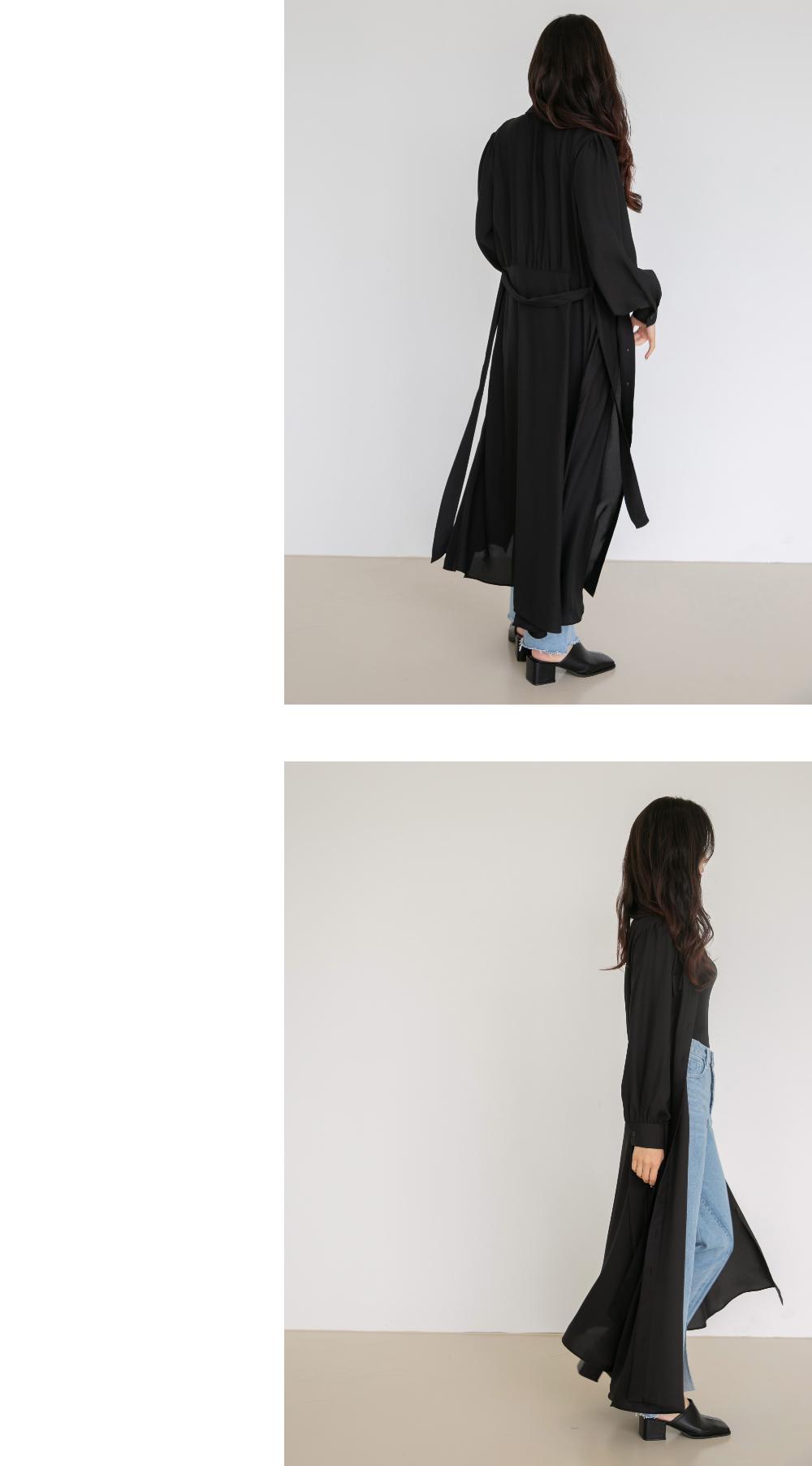 블라우스 모델 착용 이미지-S1L21