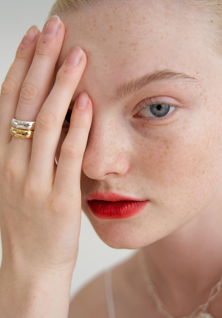 (Silver 925) solid ring (2 colors)